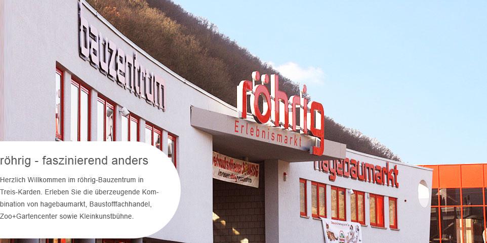 Röhrig Treis home bauzentrum röhrig baumarkt baustoffhandel